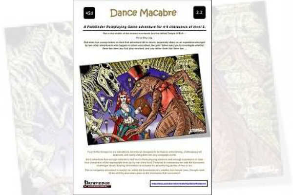 Dance Macabre – RPG Review