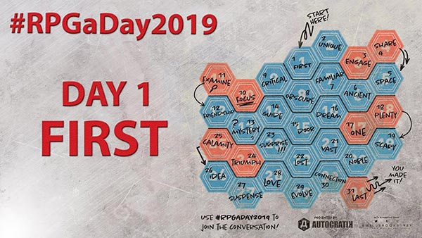 RPG a Day 2019: First
