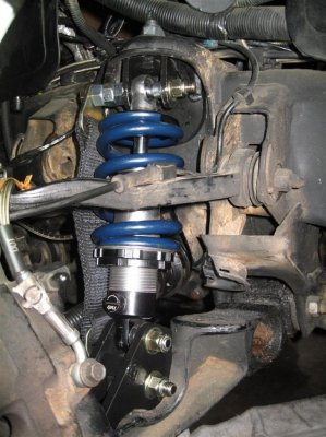Front coilovers on 98 k2500 suburban | GMT400  The Ultimate 8898 GM Truck Forum