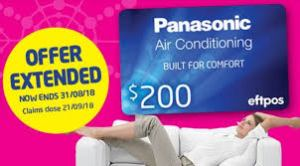 Panasonic air conditioning wall split perth