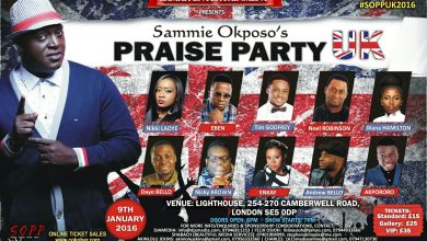 Photo of Sammie Okposo Praise Party Live London #SOPPUK2016 | Jan. 9th