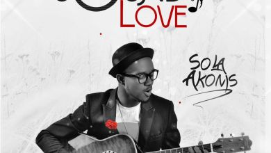 Photo of Sola Akoms Premieres New Single 'Sound Of Love' (FREE Download) | @Akoms01