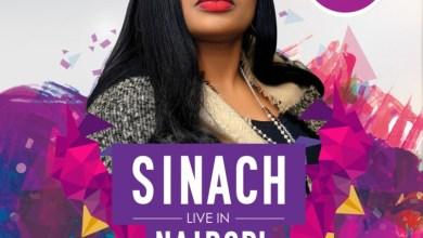 Photo of SINACH Live in NAIROBI, Kenya!   Nov 26th   #PraiseFest2016