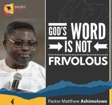 Pastor Ashimolowo - God's Word