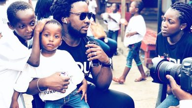 Photo of Sonnie Badu Adopts Orphanage With Over 60 Children | #TheBADUFoundation