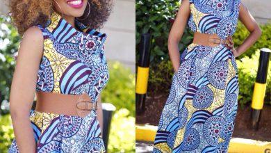 Kambua Cowl-Neck Dress