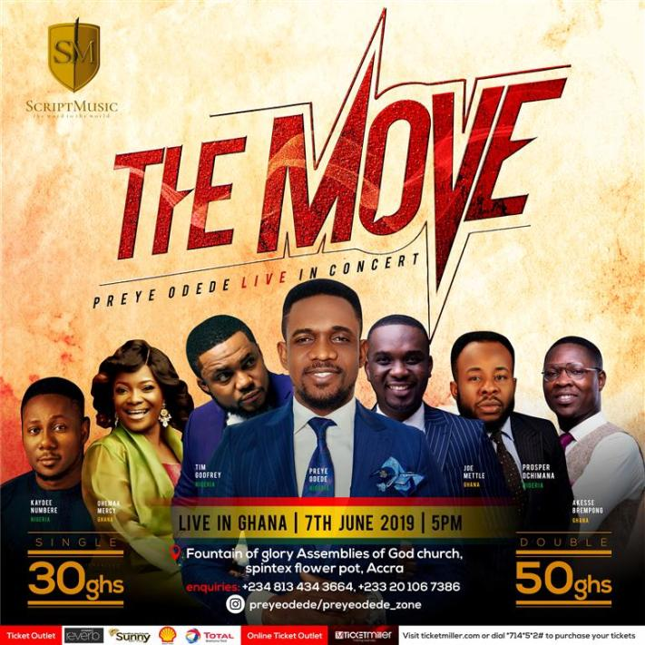 Preye Odede The Move Concert
