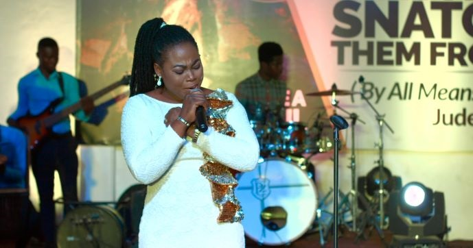 Joyce Blessing Sings Hymns from her