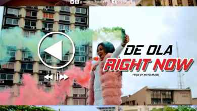 """Photo of De-Ola Debuts New Video """"Right Now"""""""