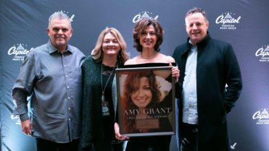Photo of Amy Grant Awarded For 1 Billion Global Streams
