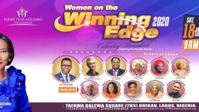 "Photo of Funke Felix-Adejumo Readies Women on the ""Winning Edge"" 2020 Conference"