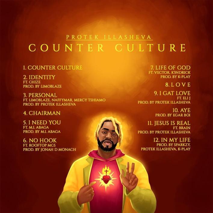 Protek Illesheva - Counter Culture Tracklist