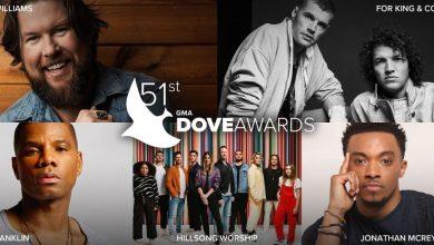 GMA Dove Awards 2020 Nominees