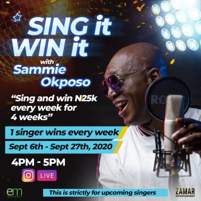 Sing It Win It with sammie Okposo