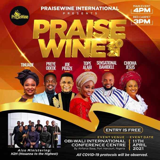 PraiseWine Concert