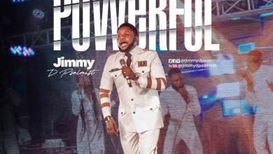 POWERFUL - JIMMY D PSALMIST (SONG ART)