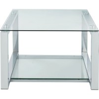Seattle Coffee Table - Glass and Metal - Tables & Chairs ...
