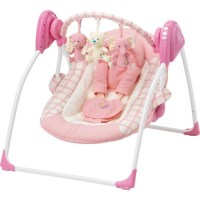 Baby by Chad Valley Deluxe Baby Swing - Pink - Other Baby ...
