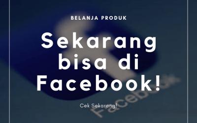Belanja di Facebook? Bisa!