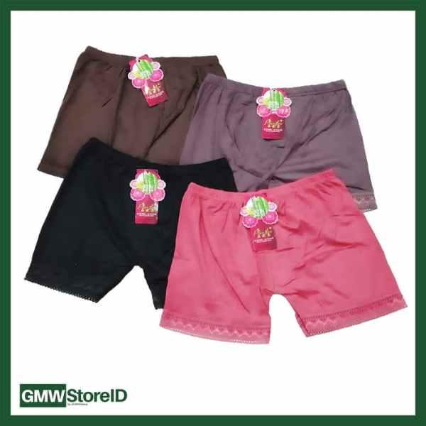 W428 CD Hotpants Wanita Halus Tipe J06 - Women Underwear Motif Murah