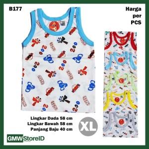B177 Baju Buntung Bayi Cowok XL Singlet Laki Urban Zoo Baby Agree SNI