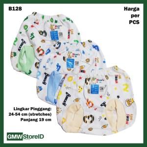 B128 Celana Dalam Bayi CD Pop Motif Lucu Warna Baby Pants Unisex SNI
