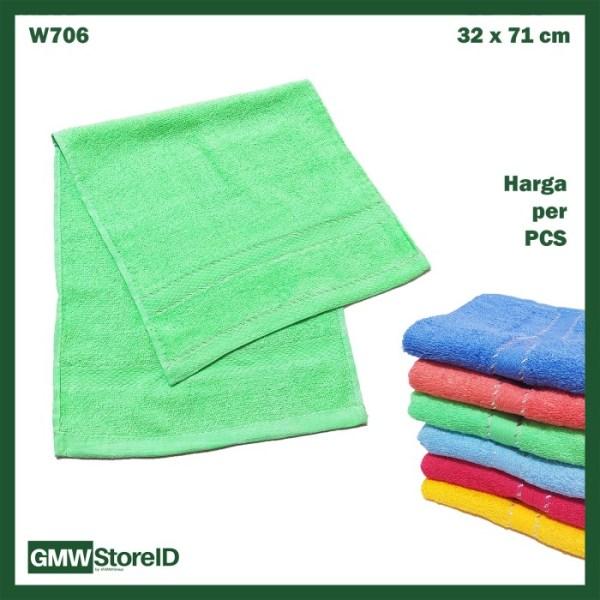 Handuk Kecil Warna Towel Jogging Polos Halus Tebal 30 x 70 cm W706