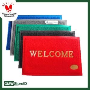 Keset Karet Plastik Welcome Sangat Cantik N570