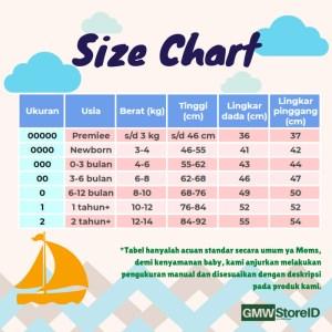 B101 Baju Buntung Bayi Kancing Kutungan Warna Motif Baby Clothes SNI