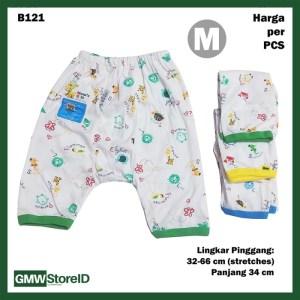 B121 Celana Pendek Bayi Size M Motif Warna Baby Clothes Unisex SNI