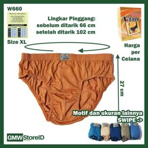 Celana Dalam Pria Eltec M L XL Men Underwear CD Cowok Laki-Laki I14