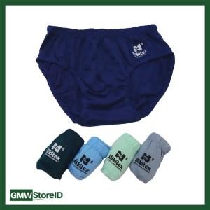 W477 Celana Dalam Laki NIKITEX Kemasan Hitam Sempak CD Cowok Size M