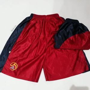 Celana Basket Olahraga Sport Bahan Kilap Size XL 3L Polyester W300