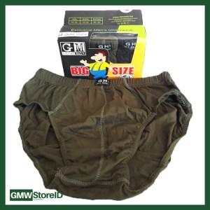 Celana Dalam Underwear Pria Great Male GM XXL 3L CD Jumbo Besar W275
