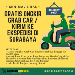 GL10 Grosir Kresek PANDU Kantong 2 Gelas Warna Random 10x40x021 44lbr