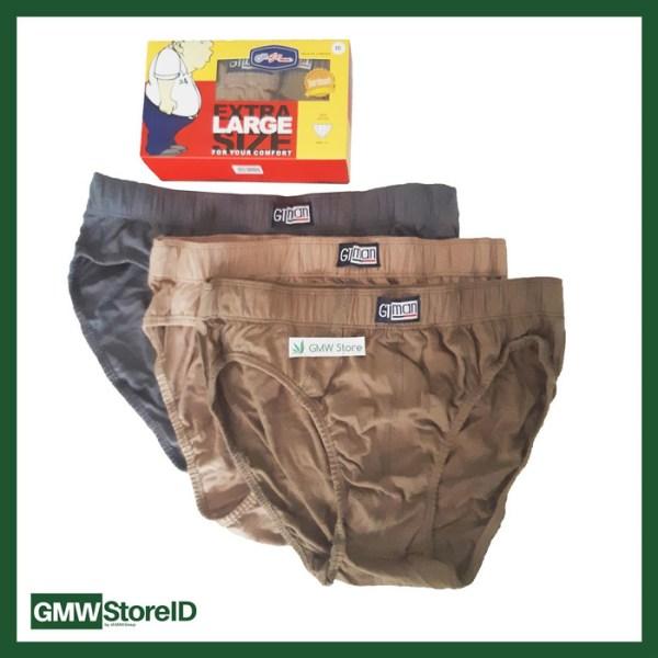 Celana Dalam CD Pria Jumbo Sempak Cowok GT Man Laki Size XXL 3L W208