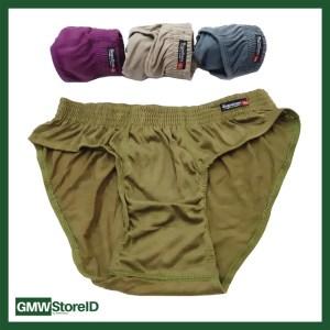 W470 Celana Dalam Laki BARATEX Kemasan Hijau Sempak CD Cowok Size XL