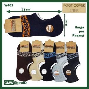 W401 Kaos Kaki Casual Bawah Mata Kaki Pria Tipe A06 - Men Socks Murah