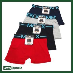 Celana Boxer Pria CD Polos Cowok X-Men Inter 249 XXL 2XL 3L W335