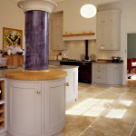 House extension – marble pillar