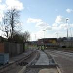 NET tramline construction