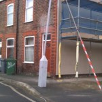 CESP Wallasey, Merseyside. IWI internal and external insulation works,