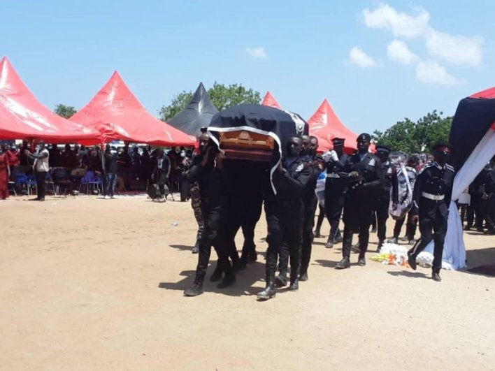 Murdered Constable Emmanuel Osei laid to rest 2