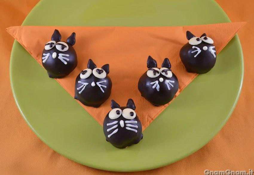 Cake pops gatto  La ricetta di Gnam Gnam