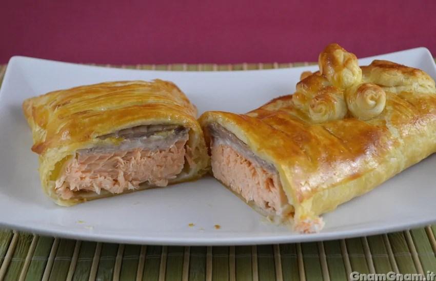 Salmone in crosta  La ricetta di Gnam Gnam