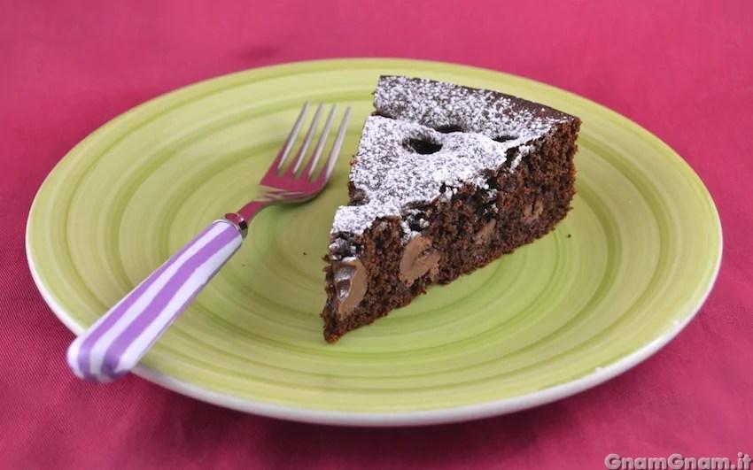 Torta al cioccolato con ovetti  La ricetta di Gnam Gnam