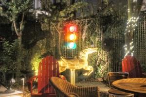 Foxy Loxy Courtyard