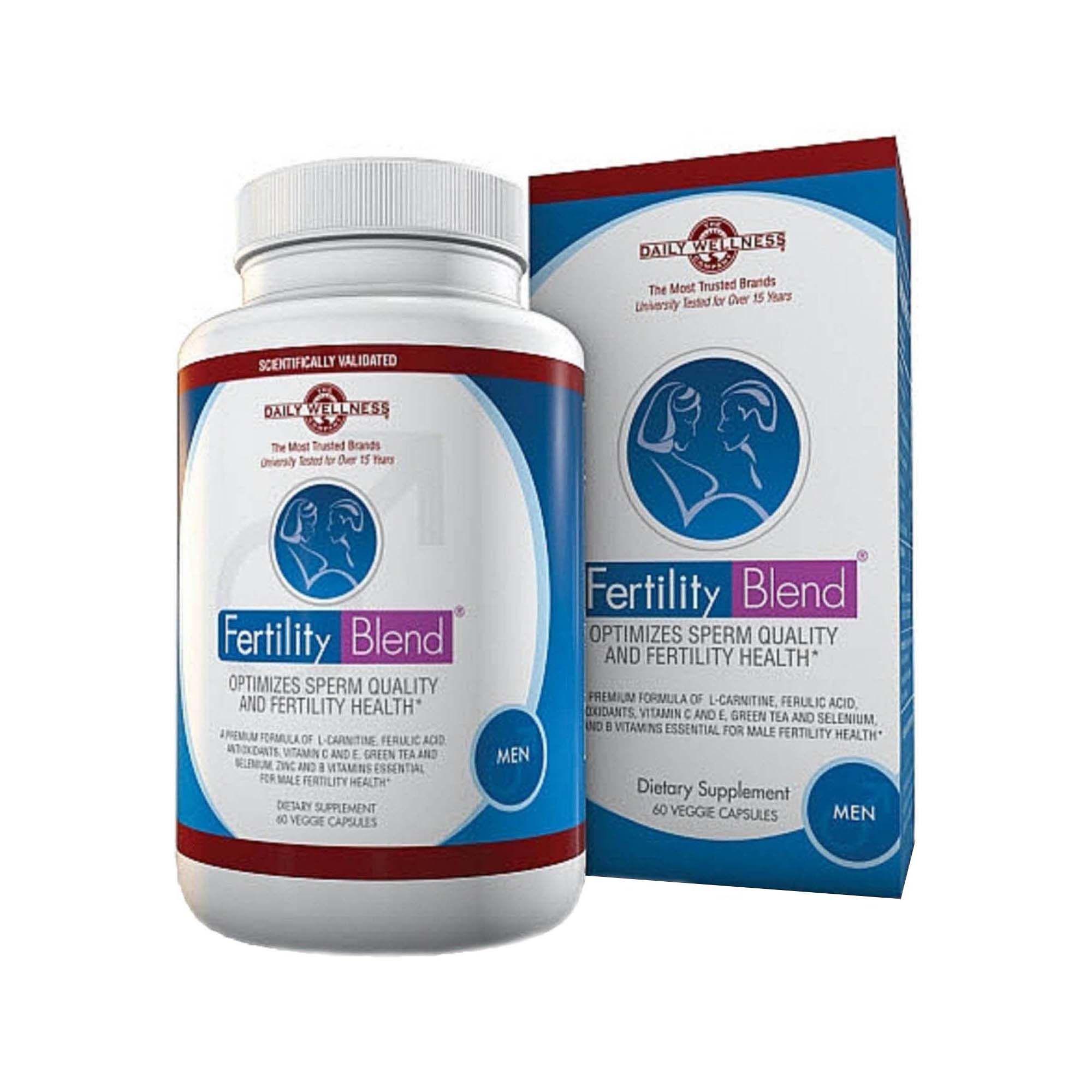 Daily Wellness Company® FertilityBlend® for Men   GNC