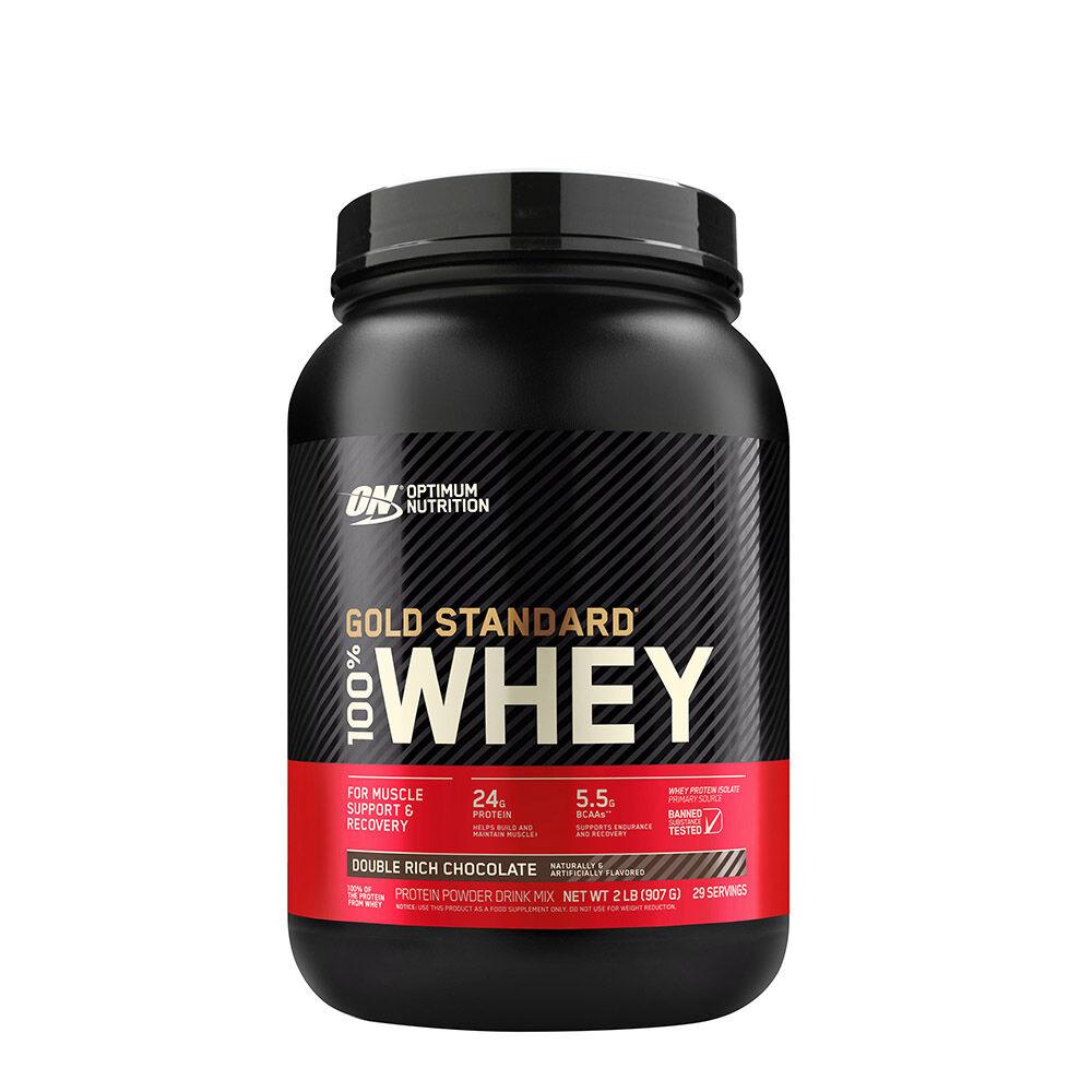 Optimum Nutrition Gold Standard 100% Whey Protein Powder ...