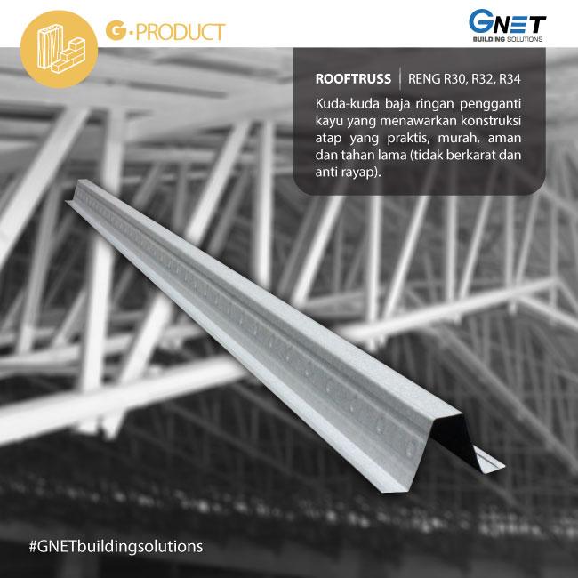 atap baja ringan di pekanbaru keunggulan gnet building solutions